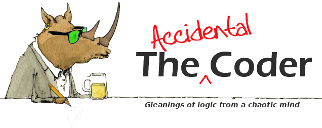 The Accidental Coder banner